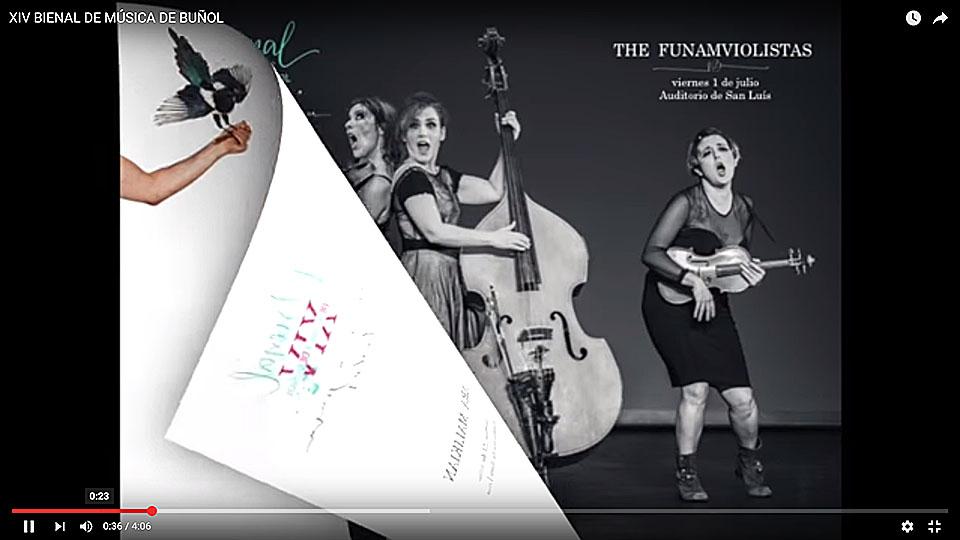 Presentación XIV Bienal de Música de Buñol