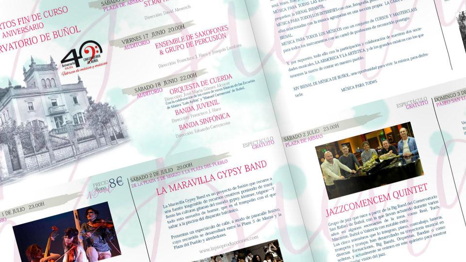 Este sábado se presenta la XIV Bienal de Música de Buñol