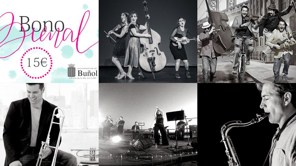 Venta de entradas Conciertos XIV Bienal de Música de Buñol