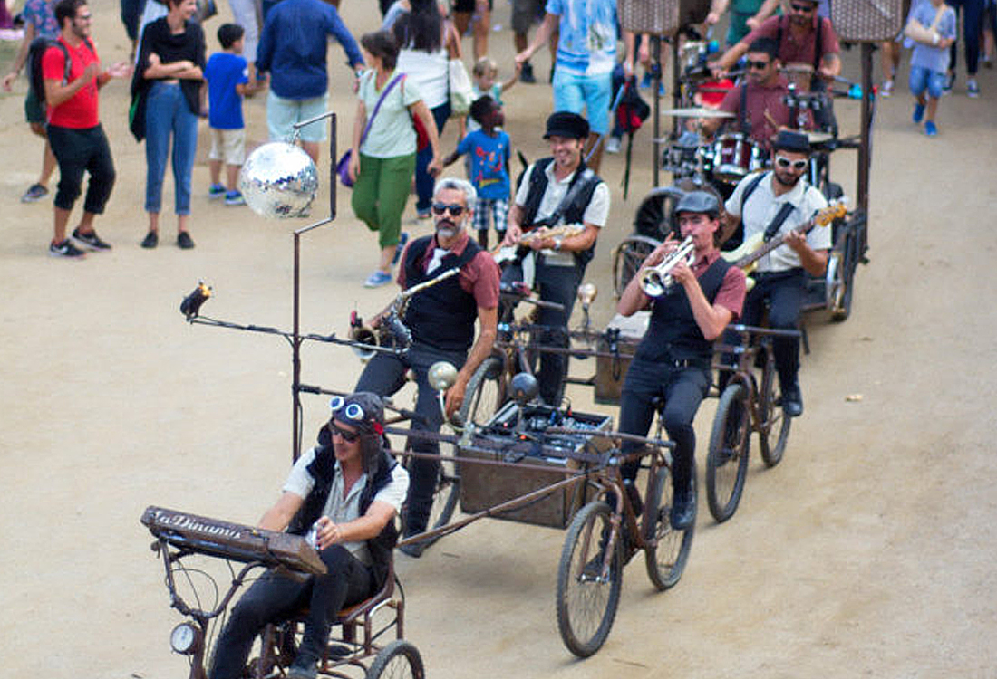 La Dinamo - Music on cycles